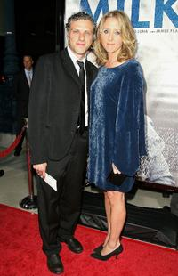 Steven Lubensky and Brooke Smith at the Los Angeles premiere of
