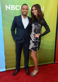 Terrence J and Giuliana Rancic at the day 2 of 2013 Winter TCA Tour.