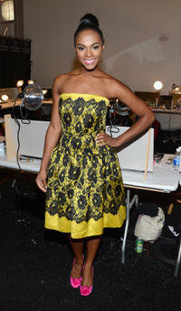 Tika Sumpter at the Milly By Michelle Smith during the Spring 2013 Mercedes-Benz Fashion Week in New York.