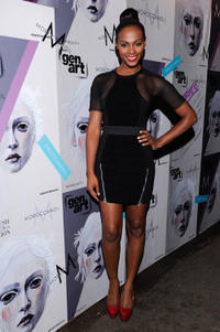 Tika Sumpter at the GenArt 14th Annual Fresh Faces In Fashion in New York.