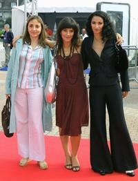 Dominique Blanc, Romane Borhinger and Rachida Brakni at the premiere of