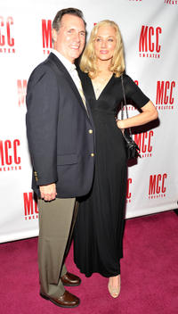 Cotter Smith and Joely Richardson at the opening night Party of