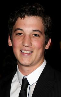 Miles Teller at the premiere of