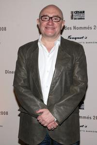 Michel Blanc at the Cesar Awards nominee dinner.