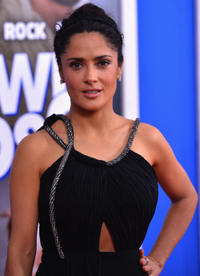 Salma Hayek Pinault at the New York premiere of