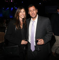 Adam Sandler and Jackie Sandler at the Fulfillment Fund's STARS 2012 Benefit Gala in California.