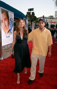 Adam Sandler and Jackie Sandler at the California premiere of