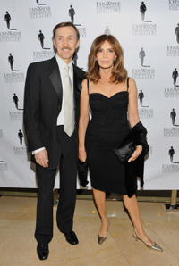 Dr. Brad Allen and Jaclyn Smith at the John Wayne Cancer Institutes 26th Annual Odyssey Ball in California.