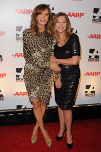 Jaclyn Smith and Cheryl Ladd at the 10th Annual Movies for Grownups Awards Gala.