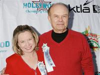 Kurtwood Smith and Debra Jo Rupp at the 2005 Hollywood Christmas Parade.