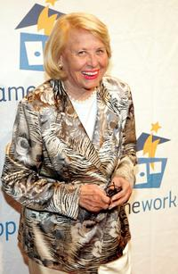 Liz Smith at the Third Annual Sesame Workshop Benefit Gala.