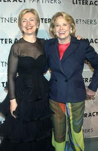 Hillary Clinton and Liz Smith at the 20th Anniversary Celebration of