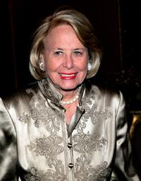 Liz Smith at the 11th Annual Living Landmarks Gala.