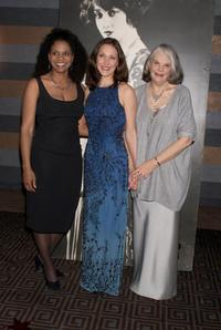 Audra McDonald, Kaitlin Hopkins and Lois Smith at the
