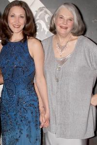 Kaitlin Hopkins and Lois Smith at the Stella by Starlight.