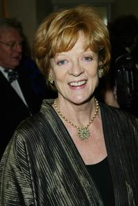Maggie Smith at the British Academy Film Awards (BAFTA's), at the Odeon Leicester Square, London.
