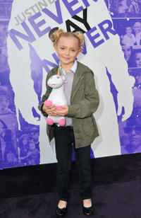 Elsie Fisher at the California premiere of