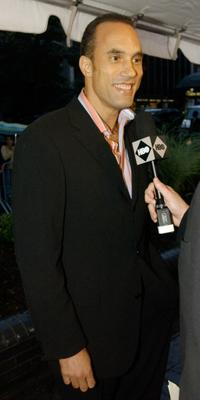 Roger Guenveur Smith at the HBO party in Palm.