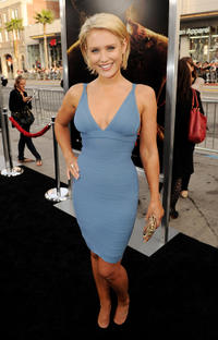 Nicky Whelan at the premiere of