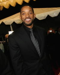 Will Smith at the Santa Barbara Film Festival Modern Master Award Ceremony in Santa Barbara, California.