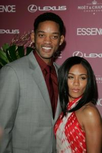 Will Smith and Jada Pinkett Smith at the