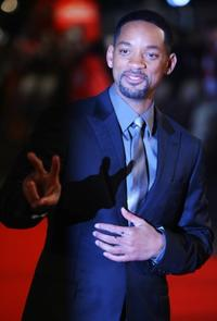 Will Smith at the London premiere of