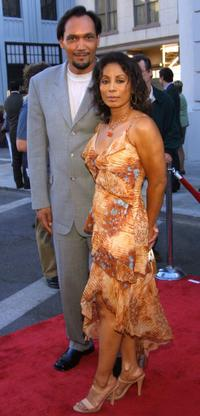 Jimmy Smits and Wonda De Jesus at the premiere of