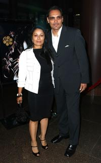 Wonda De Jesus and Jimmy Smits at the Video's release of