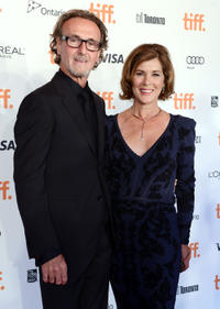 Producer Seaton McLean and Sonja Smits at the Board Gala: The Night That Never Ends during the 2012 Toronto International Film Festival in Canada.