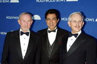 Tom Smothers, Joe Mantegna and Dick Smothers at the