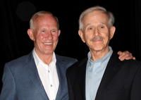 Tom Smothers and Dick Smothers at the 24th Annual Television Critics Association Awards Show.