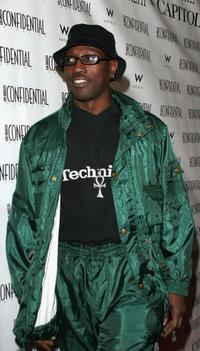 Wesley Snipes at the LA Confidential pre-Oscar bash to celebrate actor Jamie Foxx's nomination.