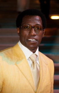 Wesley Snipes at the landmark Grand Opening of Atlantis.