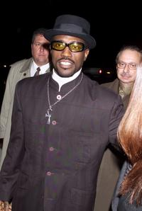 Wesley Snipes at the New York Premiere of