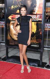 Elizabeth Mathis at the California premiere of