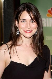 Rena Sofer at the preview of NBC's 2002-2003 prime time schedule.