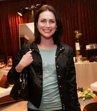 Rena Sofer at the InStyle Golden Globe Suite.