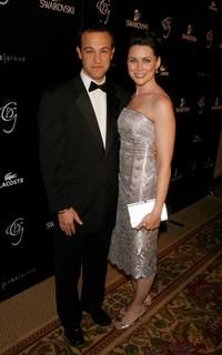 Sanford Bookstaver and Rena Sofer at the 9th annual Costume Designers Guild Awards.
