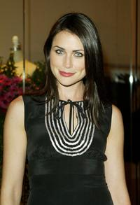 Rena Sofer at the opening party of