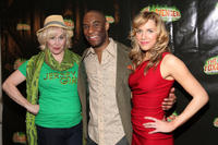 Nancy Opel, Desmond Green and Sara Chase at the opening night of