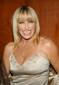 Suzanne Somers at the Broadway debut party for her new play