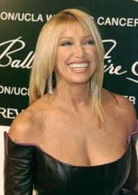 Suzanne Somers at the 10th Annual Fire & Ice Ball a gala event.