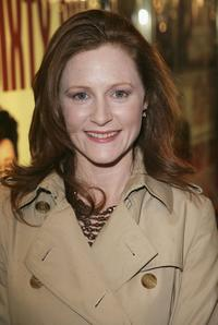 Geraldine Somerville at the premiere of