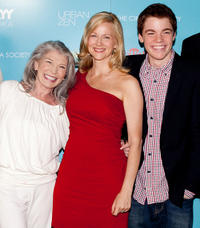 Phyllis Somerville, Laura Linney and Gabriel Basso at the Showtime with The Cinema Society screening of