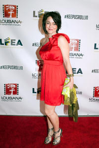 Shanna Forrestall at the Laissez Louisiana Film Rouler.