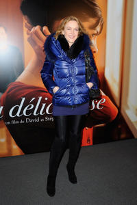 Agnes Soral at the France premiere of