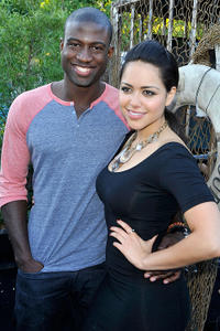 Sinqua Walls and Alyssa Diaz at the press preview night of
