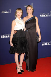 Audrey Lamy and Alexandra Lamy at the 37th Cesar Film Awards in France.