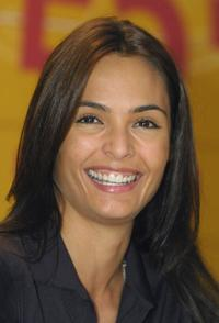 Talisa Soto at the Berlinale Film Festival.