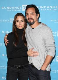 Talisa Soto and Benjamin Bratt at the screening of